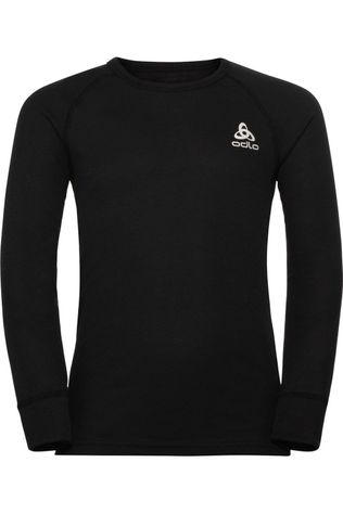 Odlo Sous-Vêtement Active Warm Eco Kids Bi Top Crew Neck L/S Noir