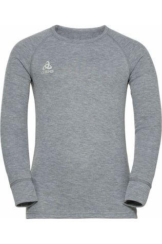 Odlo Sous-Vêtement Active Warm Eco Kids Bi Top Crew Neck L/S Gris Clair Mélange