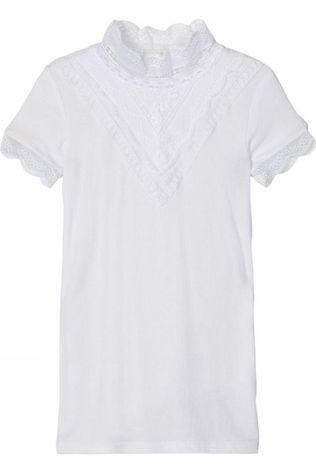 Name It T-Shirt NkfruSs Xsl Blanc Cassé