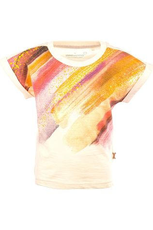 Stones and Bones T-Shirt Loretta - Colors off white