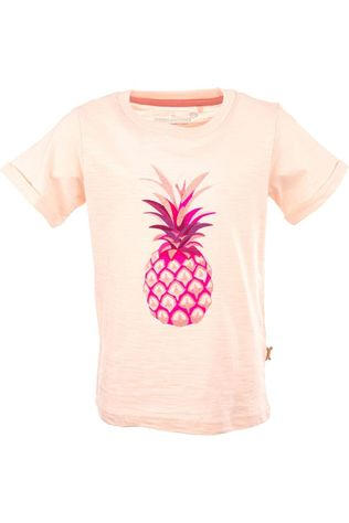 Stones and Bones T-Shirt Josey - Pineapple light pink