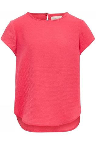 Kids Only Shirt Konvictoria S/S Top Wvn light pink