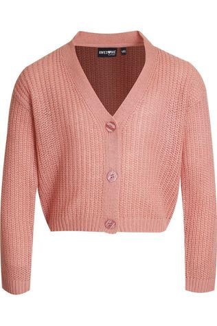 Awesome Cardigan Ines-G-15-B Middenroze