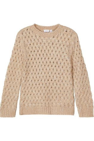 Name It Pullover Nkfronnia Sand Brown