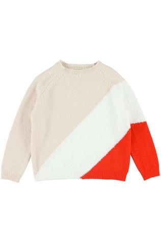 LIly Balou Kids Pullover Luda Colourblock light pink/mid pink