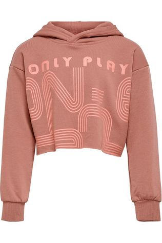 Only Play Pull Onpjanay Ls Short Hood Rose Clair
