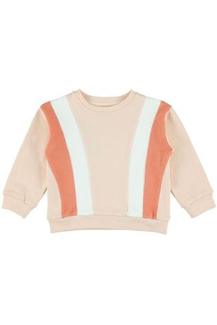 LIly Balou Kids Pullover Jake Colourblock light pink/mid pink