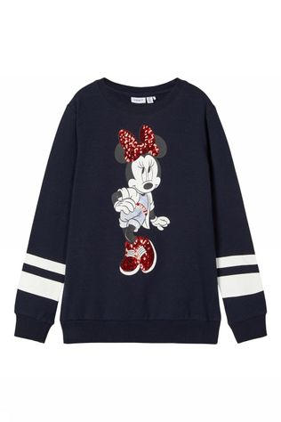 Name It Trui Nkfminnie Scarlett Bru Wdi Donkerblauw