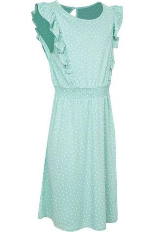 Petit Louie Robe Adele Little Dots Vert/Assorti / Mixte