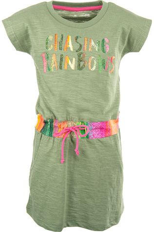 Stones and Bones Dress Pearley - Chasing Rainbows light khaki