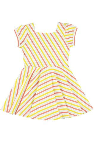 LIly Balou Kids Dress Kiki Off White/Stripes