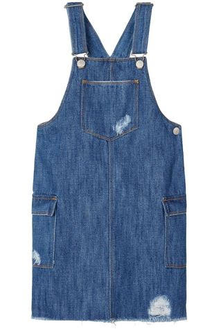 Name It Robe Nkfbecky Dnmagil 2440 Bib Denim / Jeans/Bleu Moyen (Jeans)