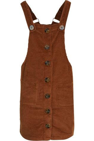 Awesome Dress Febe-G-58-F mid brown