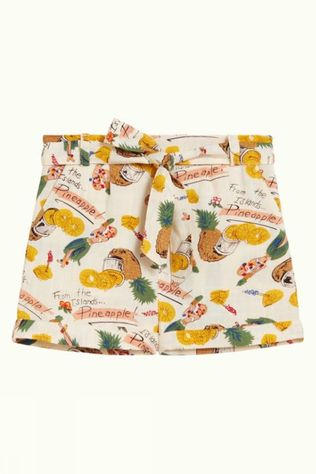 Petit Louie Shorts Roisin Punch off white/yellow