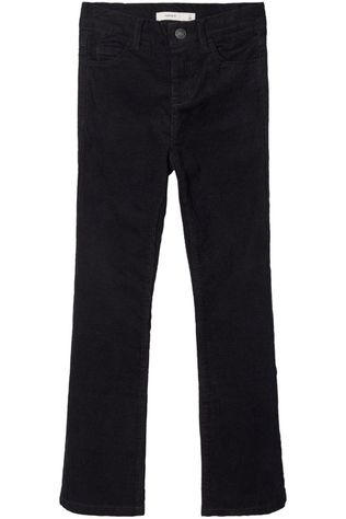 Name It Pantalon fpolly Cordtaby Hw Boot Noos Noir
