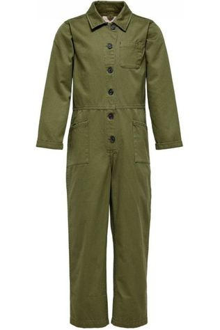 Kids Only Jumpsuit ruby Button Kaki Moyen