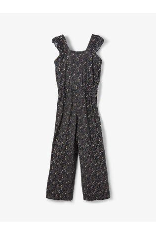 Name It Jumpsuit Nkfbashion Sl Dark Blue/Ass. Flower