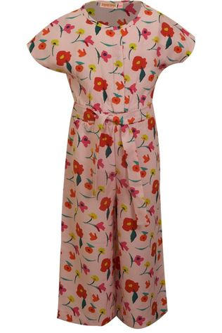 Someone Jumpsuit Fiore-Sg-64-B Light Pink/Ass. Flower