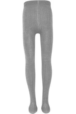 Ewers Tights Rib Panties Light Grey Marle