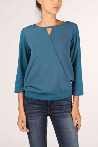 Terre Bleue Blouse North Petrol