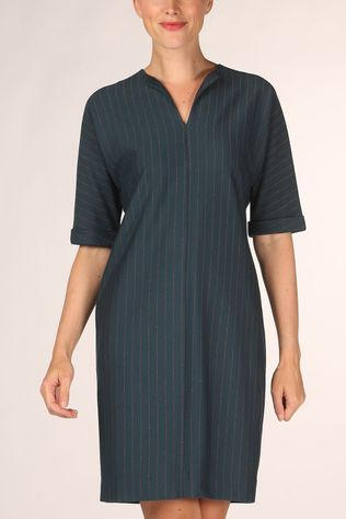 Terre Bleue Dress Sadie Petrol