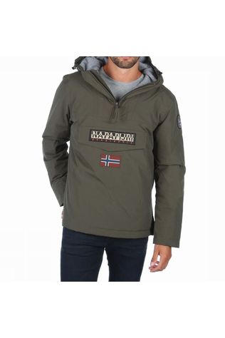 Napapijri Coat Rainforest mid khaki