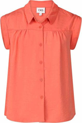 CKS Kids Blouse Echo Oranje