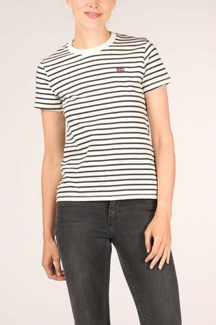 Levi's T-Shirt The Perfect Tee Wit/Zwart