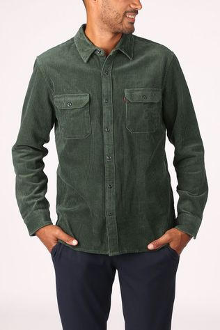 Levi's Shirt Jackson Worker dark green