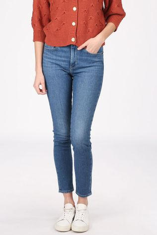 Levi's Jeans 721 High Rise Skinny Mid Blue/Denim / Jeans