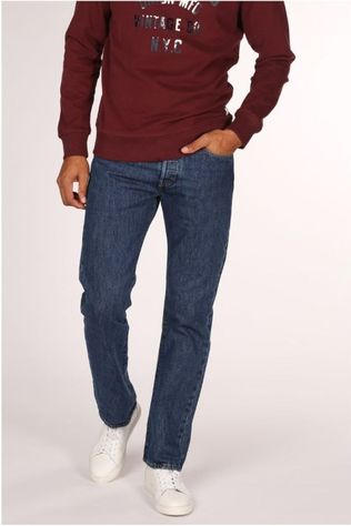 Levi's Jeans 501 Donkerblauw (Jeans)