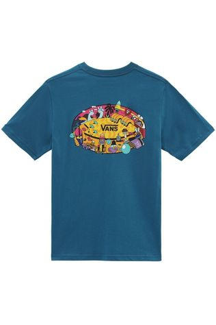 Vans T-Shirt By Future Standard Ss Boys Petrol