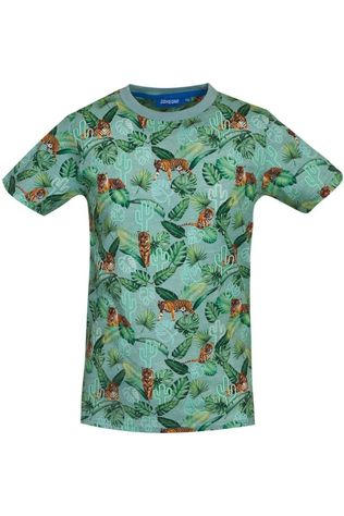 Someone T-Shirt Rajah-Sb-02-D Vert Clair/Assorti / Mixte