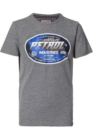 Petrol T-Shirt B-3000-Tsr600 Dark Grey Mixture