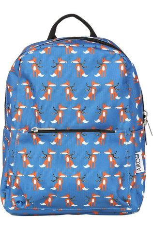Aikoo Daypack Backpack Budapest Mid Blue/Assorted / Mixed
