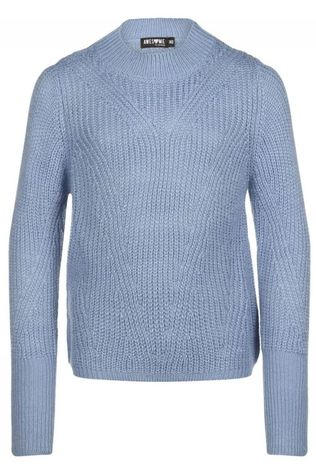 Awesome Pullover Femme-G-12-F light blue