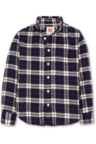AO76 Hemd Timothy Button Down Donkerblauw