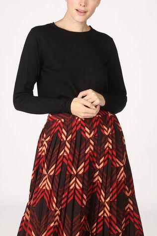 Soft Rebels Zara Oneck Knit Noir