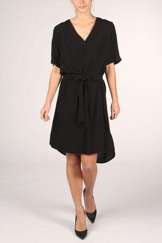 Soft Rebels Dress Quinn 2/4 black