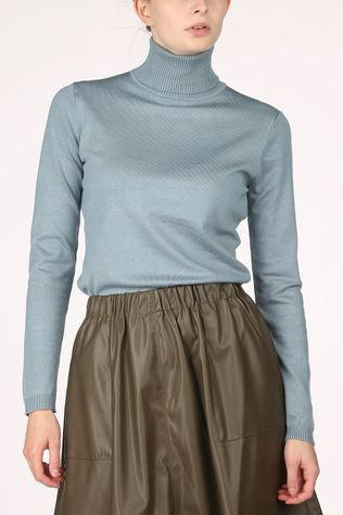 Soft Rebels Zara Rollneck Bleu Clair