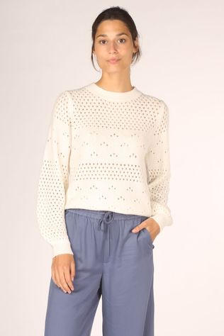 Numph Pullover bexley off white