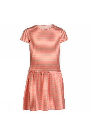 Name It Dress petulla Ss mid pink/white