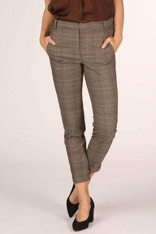 Inwear Trousers Vice Zella Dark Grey Marle/Brown