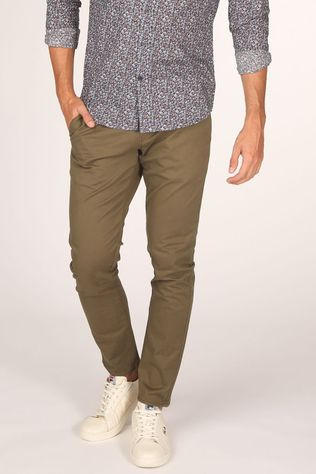 Matinique Pantalon Macarl New Chino Kaki Moyen