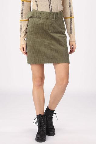 Ichi Skirt Ihjorelle light khaki