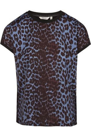 B.Young T-Shirt Bypanya Leo black/mid blue