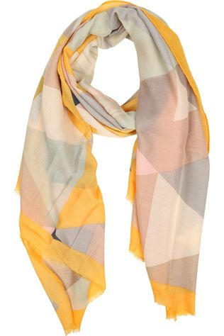 Ichi Scarf Iaenga Sc Yellow/Assorted / Mixed