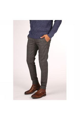 Only&Sons Trousers mark Check mid grey/dark grey