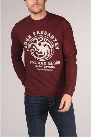 Jack & Jones Pull Jorgot Bordeaux