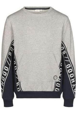 Name It Pullover Bastian Light Grey Marle